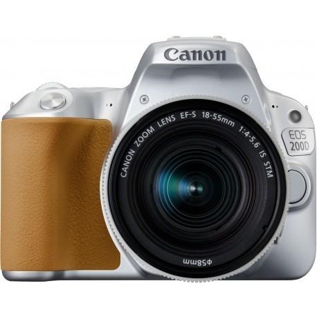 Canon EOS 200D + 18-55mm IS STM, hõbedane