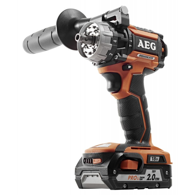 AEG BSB 18 CBL-202C (2x2,0 Ah) Brushless Hammerdrill
