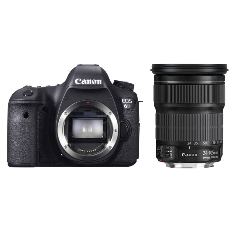 Canon EOS 6D Kit + EF 3,5-5,6/24-105 IS STM