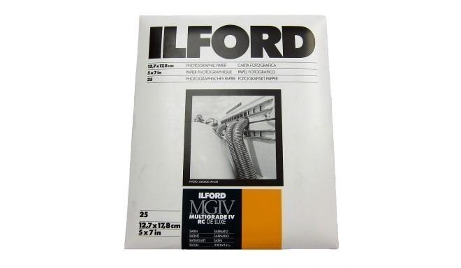 Ilford paber 12,7x17,8cm MGIV 25M satiin 25 lehte (1771899)