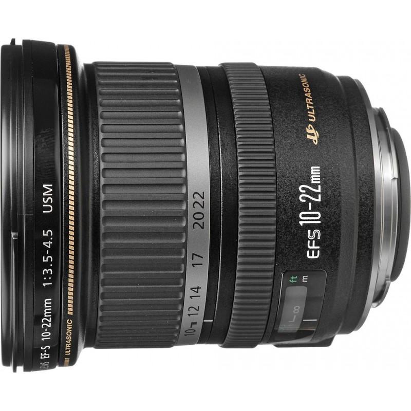 Canon EF-S 10-22мм f/3.5-4.5 USM объектив