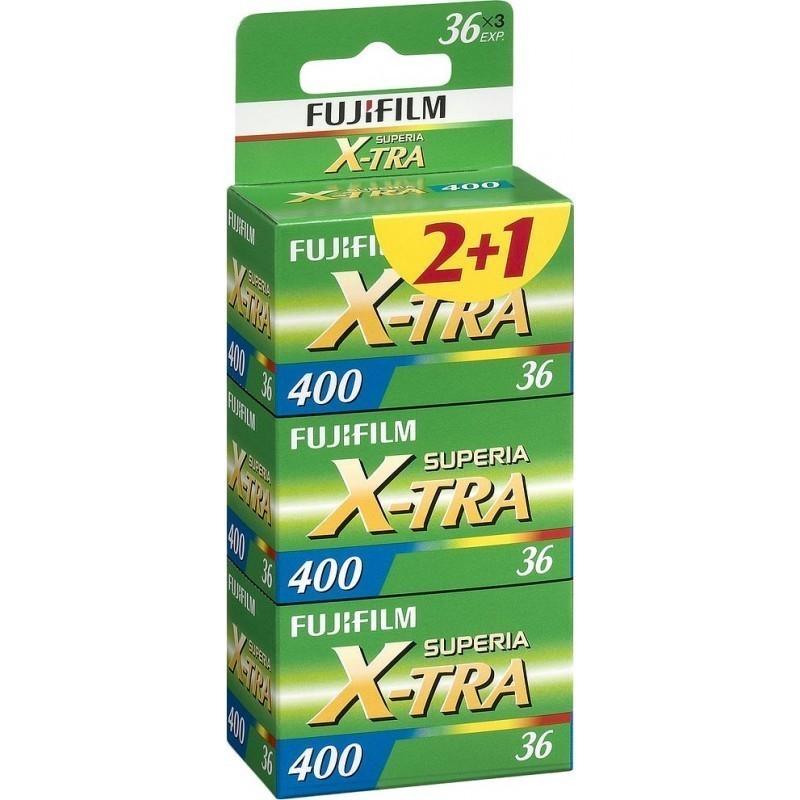 Fujicolor film Superia X-TRA 400/36×3