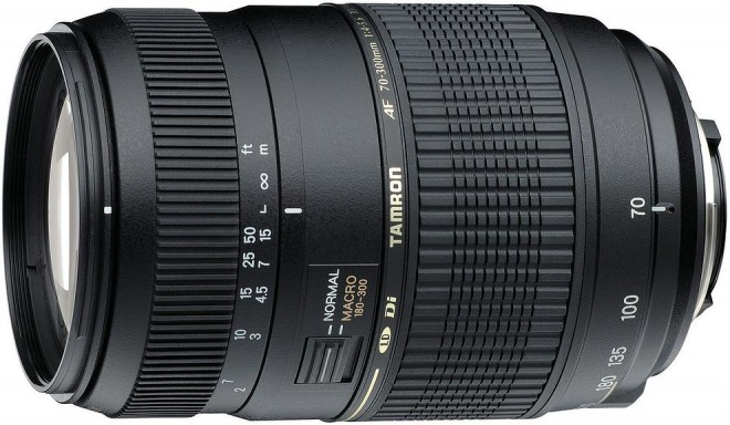 Tamron AF 70-300mm f/4.0-5.6 Di LD objektiiv Canonile