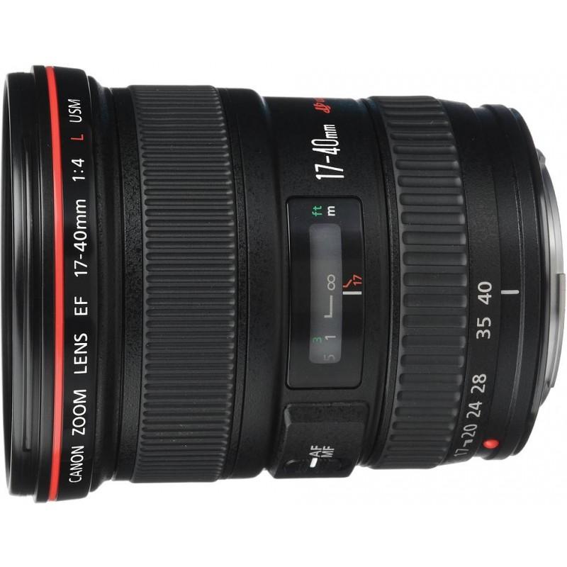 Canon EF 17-40mm f/4.0L USM objektiiv