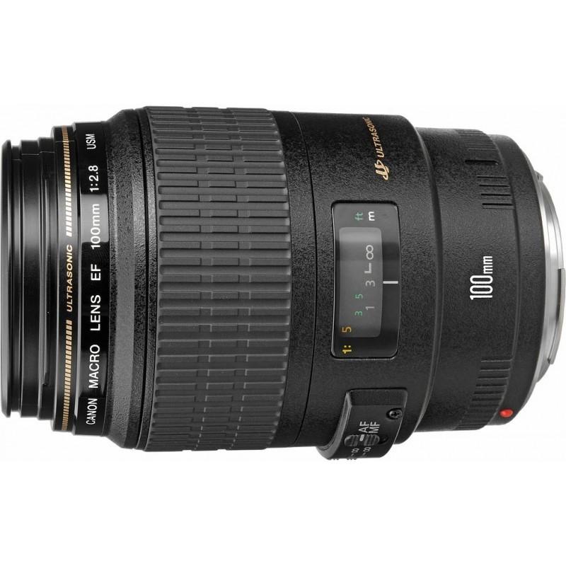 Canon EF 100 мм f/2.8 USM Macro