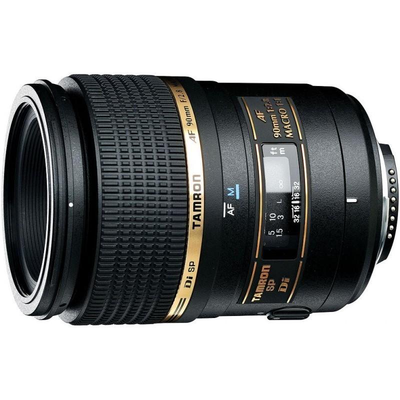 Tamron AF 90мм f/2.8 Di Macro объектив для Canon