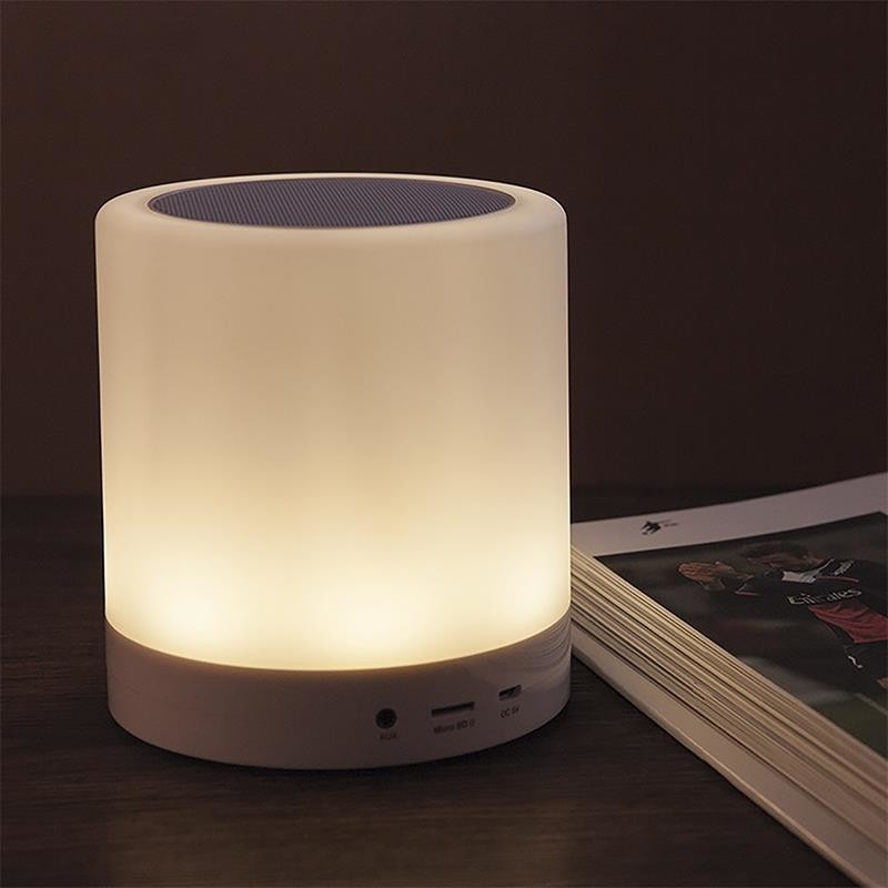 LIGHTBOX BT TOUCH - Bluetooth Speaker with Touch Multicolor Lamp ...