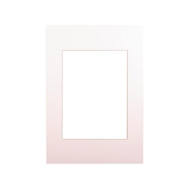 Paspartuu 15×21, pehme valge