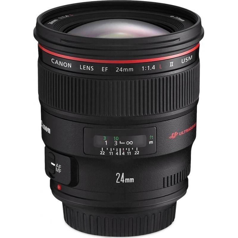 Canon EF 24 мм f/1.4 L USM II