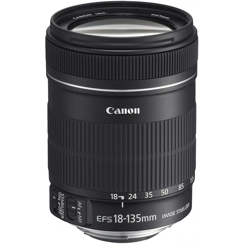 Canon EF-S 18-135mm f/3.5-5.6 IS objektiiv