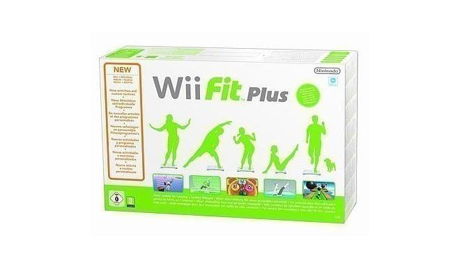 Nintendo Wii mängukomplekt Fit Plus/Balance Board