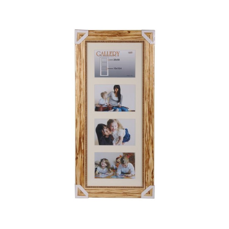 Photo frame Retro Gallery 20x50, natural (VI2514) - Photo frames ...