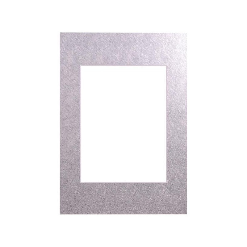 Passepartout 15×21, silver