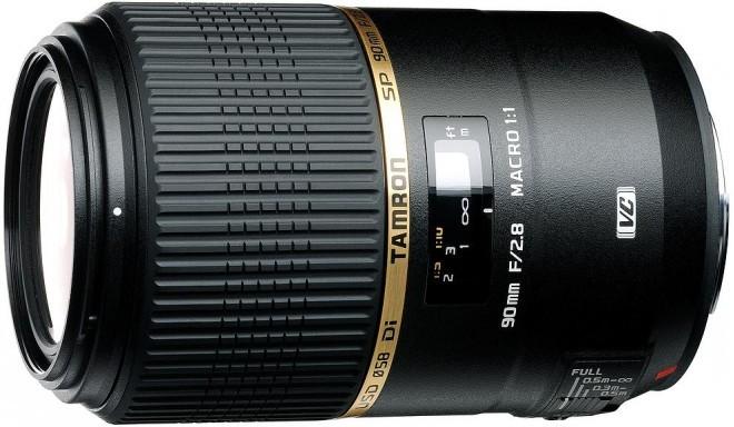 Tamron SP 90mm f/2.8 Di VC USD Macro objektiiv Nikonile