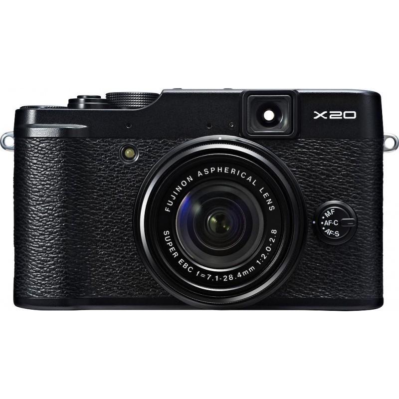 Fujifilm FinePix X20 черный
