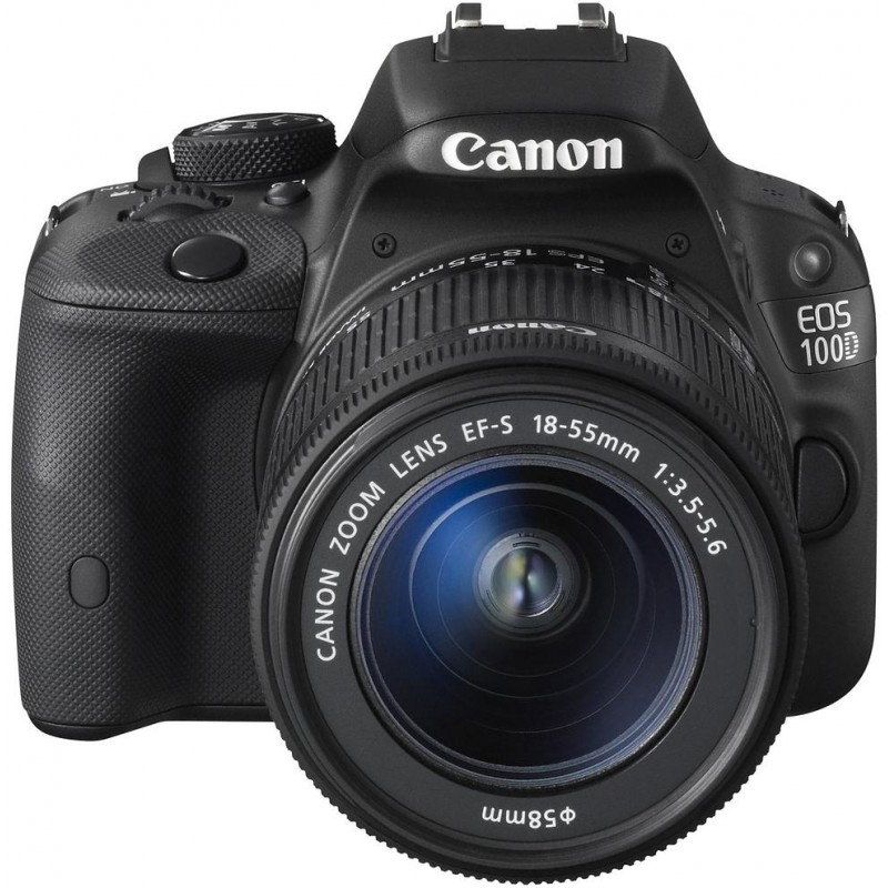 Canon EOS 100D + 18-55mm DC III Kit