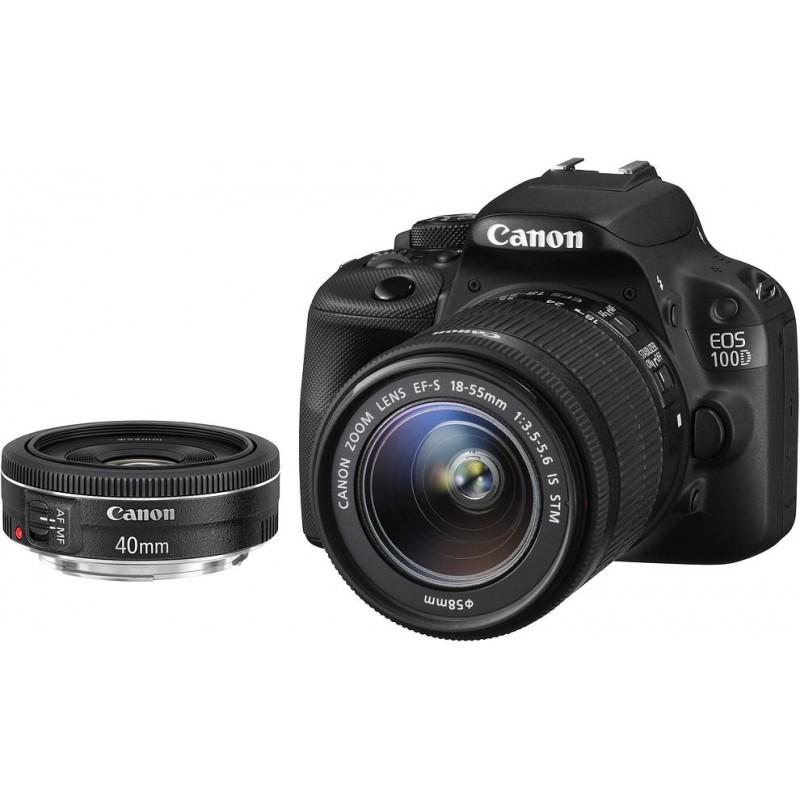 Canon EOS 100D + 18-55мм IS STM + 40мм STM Kit
