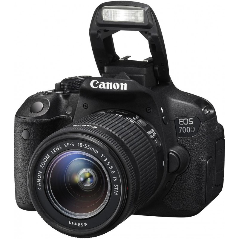 Canon EOS 700D + 18-55mm STM + 55-250mm II Kit
