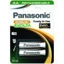 Panasonic rechargeable battery Evolta 2450mAh P-6E/2B