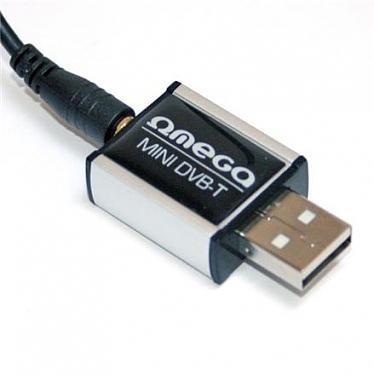 Omega TV kaart DVB-T USB Tuner MPEG4 HD T300