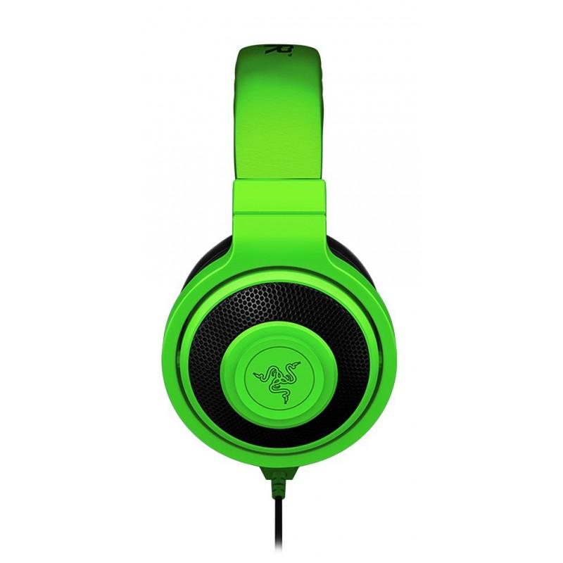 Razer наушники Kraken, зеленые