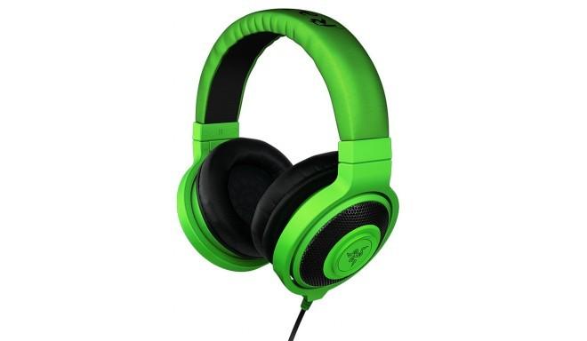 Razer наушники Kraken, зеленый
