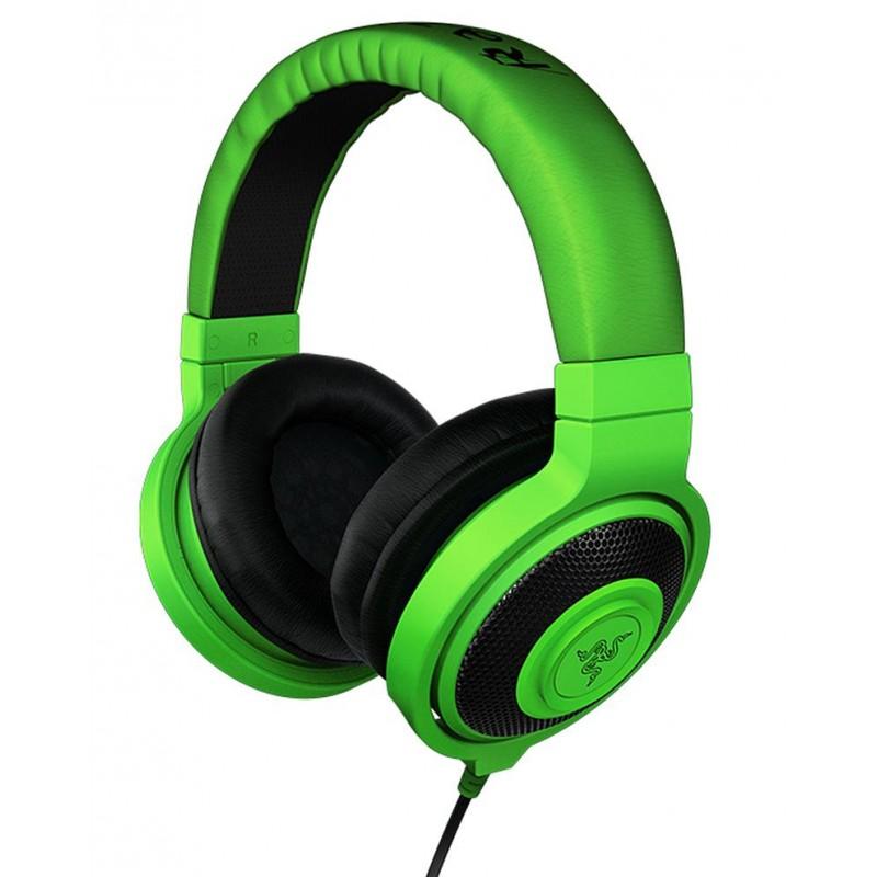 Razer kõrvaklapid Kraken, rohelised