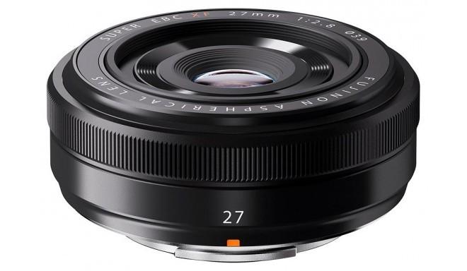 Fujinon XF 27mm f/2.8 objektīvs, melns