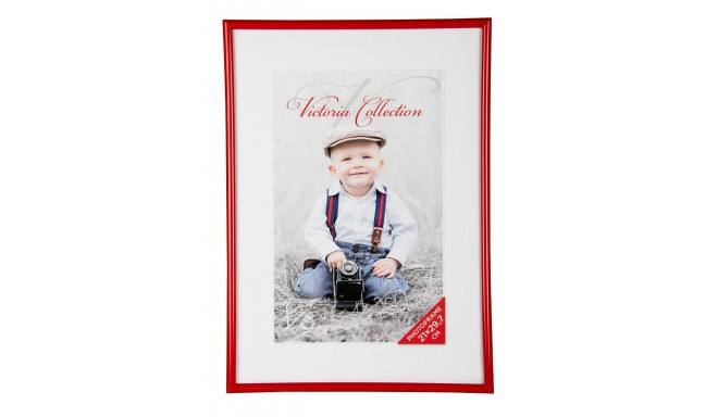 Photo frame Future 21x29.7, red