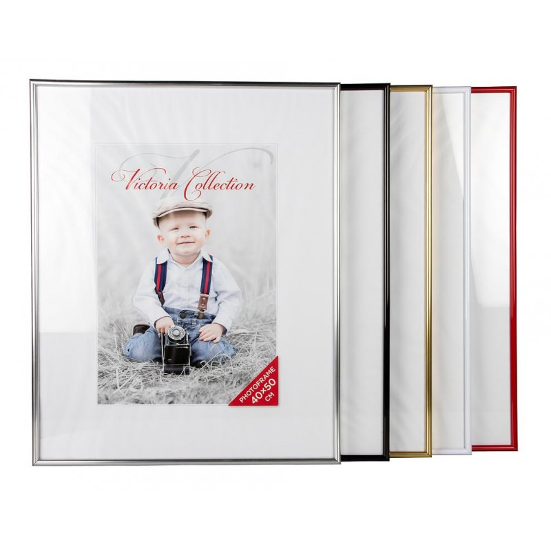 Photo frame Future 40x50, white - Photo frames - Photopoint