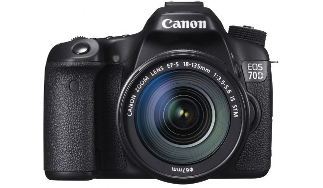 Canon EOS 70D + 18-135mm IS STM Kit