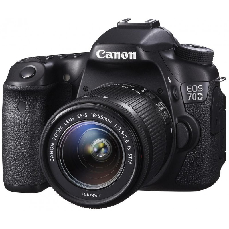 Canon EOS 70D + 18-55мм IS STM Kit