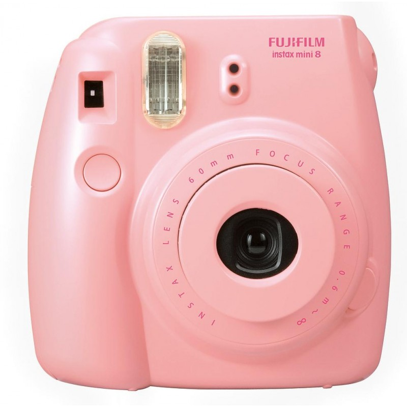 Fujifilm Instax Mini 8, roosa