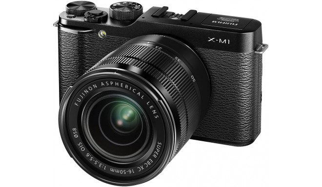 Fujifilm X-M1 + 16-50mm, must