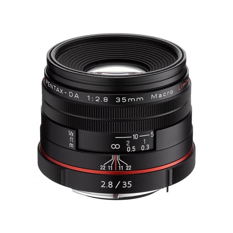 HD Pentax DA 35mm f/2.8 Macro Limited must objektiiv