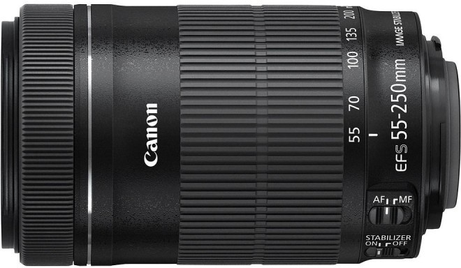 Canon EF-S 55-250мм f/4-5.6 IS STM объектив