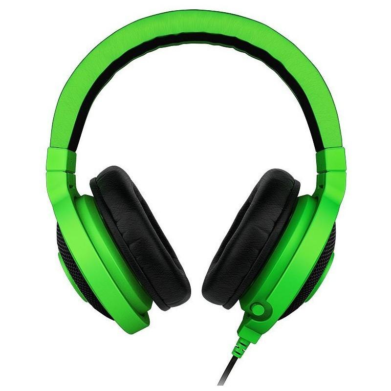 Razer kõrvaklapid + mikrofon Kraken Pro 2012, roheline