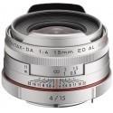 HD Pentax DA 15 мм f/4 ED AL Silver Limited