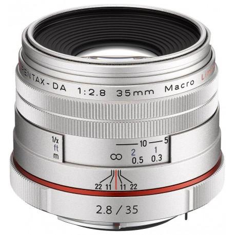 HD Pentax DA 35mm f/2.8 Macro Limited objektīvs, sudrabots