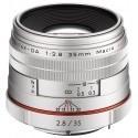 HD Pentax DA 35mm f/2.8 Macro Silver Limited