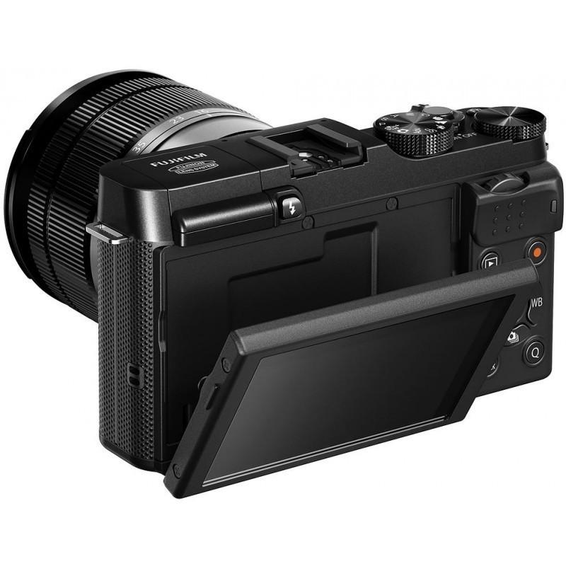 Fujifilm X-A1 + 16-50mm, must