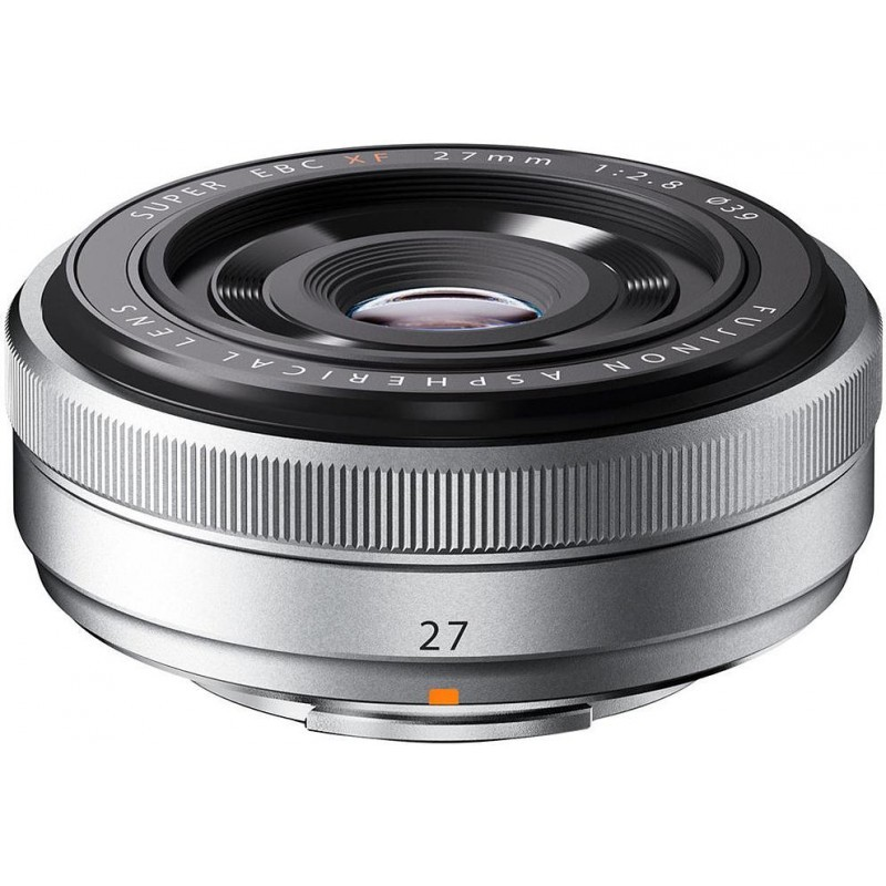 Fujifilm XF-27mm f/2.8 silver