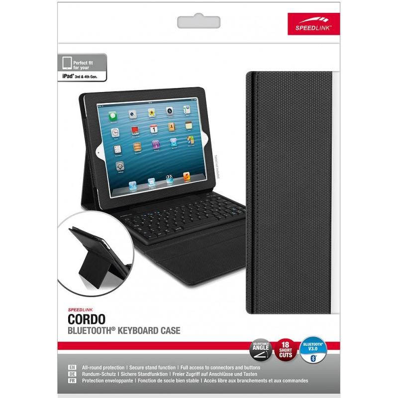 Speedlink keyboard case Cordo iPad (SL-7164) - Tablet cases - Nordic Digital