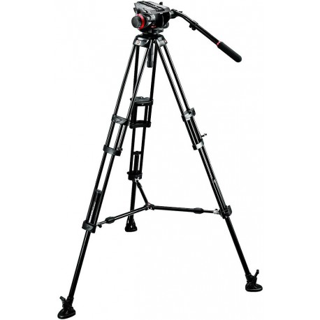 Manfrotto видеоштатив 546BK + 504HD Pro Video