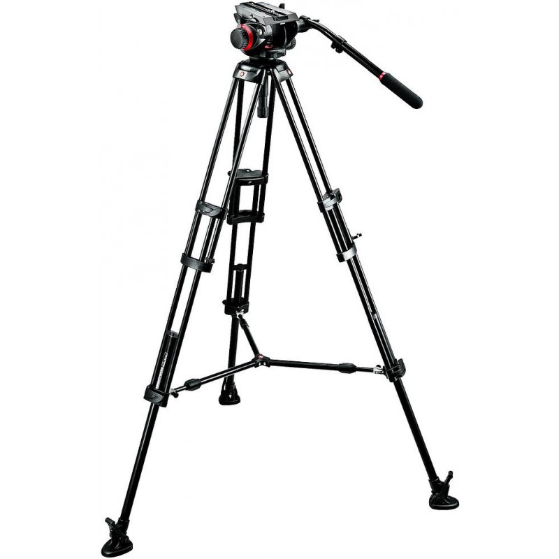 Manfrotto videostatiiv 546BK + 504HD Pro Video statiivipea