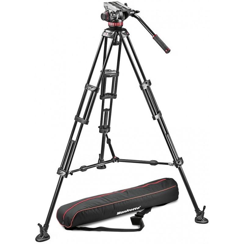 Manfrotto videostatiiv 546BK-1 + MVH502A Pro Video statiivipea
