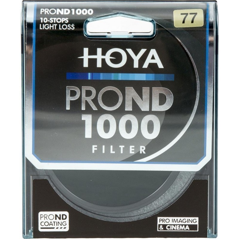Hoya filter neutraalhall ND1000 Pro 77mm