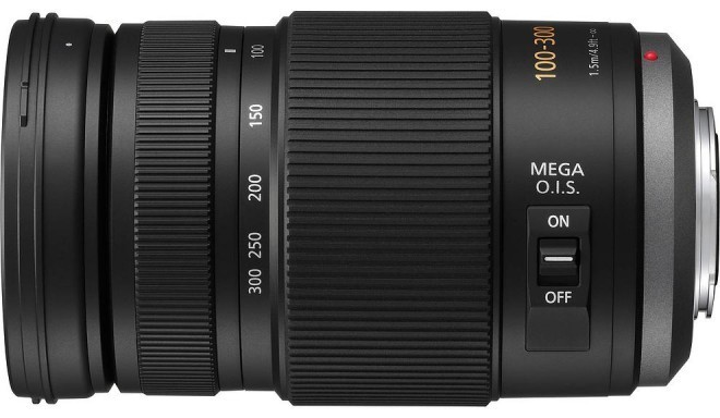 Panasonic Lumix G Vario 100-300mm f/4.0-5.6 Mega O.I.S objektiiv