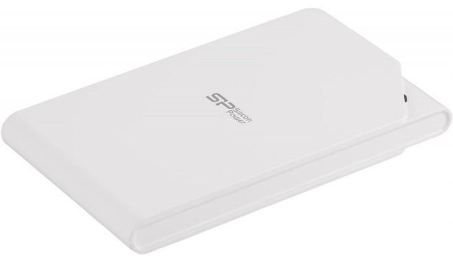 Silicon Power ārējais cietais disks Stream S03 1TB, balts