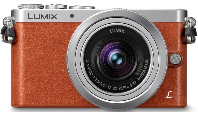 Panasonic Lumix DMC-GM1 + 12-32mm Kit, oranž
